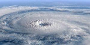 oog van de storm