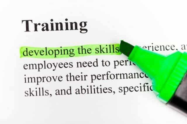 verkoop training op vaardigheden