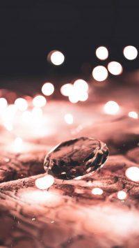 diamant en lichtschittering